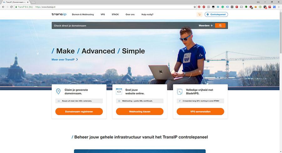 transip-homepage